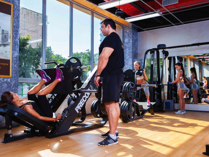 Будьте уверенны в себе вместе с фитнес!